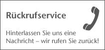 Rückrufservice